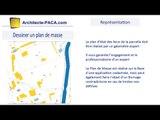 plan masse permis construire cadastre définition exemple : Architecte-paca.com