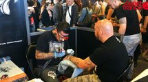 La tatoo convention de Rennes au stade de la route de Lorient en met plein les mirettes