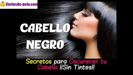 CABELLO NEGRO | Cómo Oscurecer tu Cabello Naturalmente ¡Sin tintes!