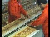 Optimizing cross-cut saw operation
