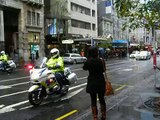 NZ Police Vehicles, Queen St, Auckland NZ, 25 May 09