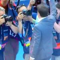 Barcelona vs Juventus: Alessandro del Piero presente en el estadio