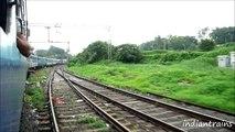 india travel@ scenic drive by indian railways train,badlapur to shelu,thane, maharashtra, india