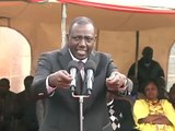 Deputy President William Ruto at Marinyin, Bomet County on Accountability.