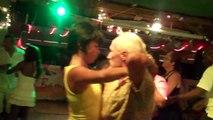 Sensual Bachata Dance in La Bamba Beach Bar St.Maarten Dutch Caribbean