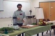 Alimentation crue à base de fruits et de légumes