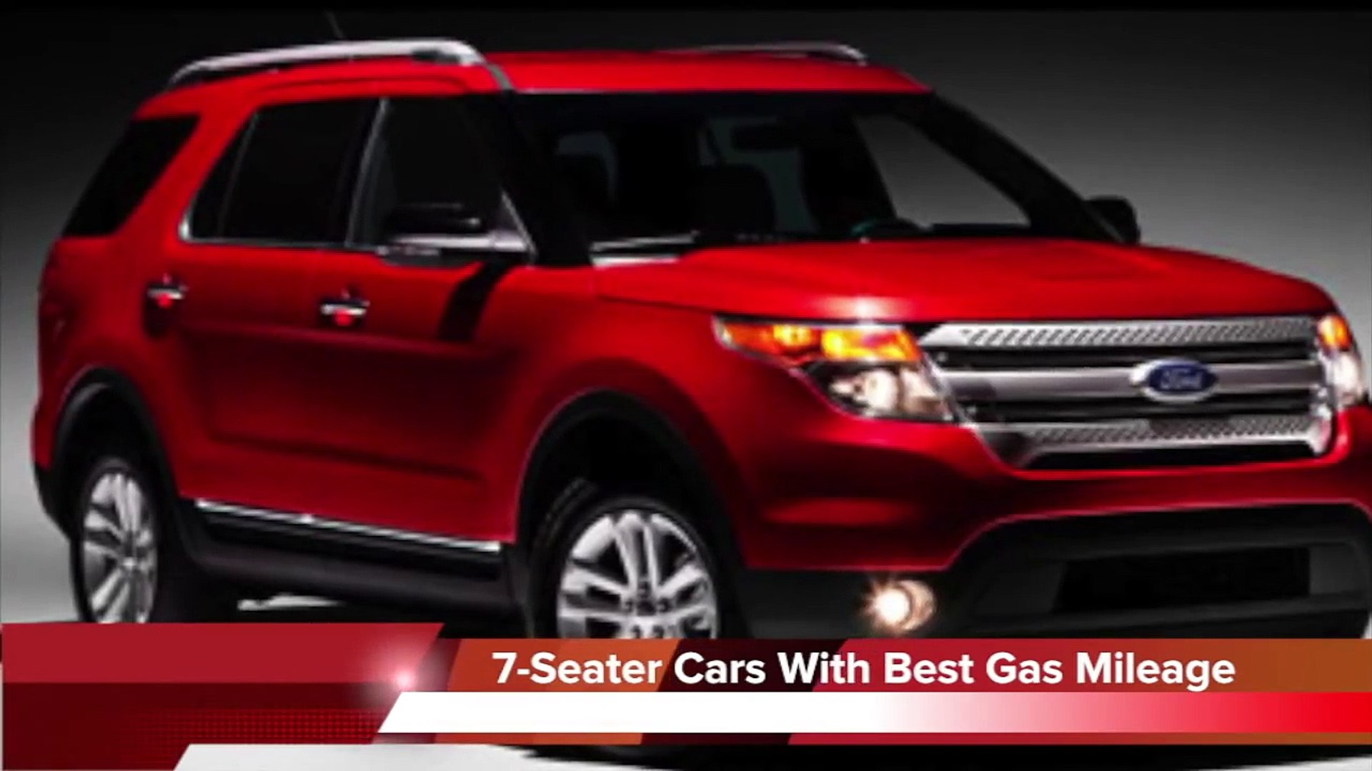 2013 7 Seater Cars With The Best Gas Mileage Video Dailymotion