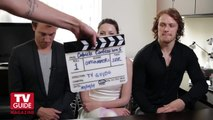 Outlander | Interview - Caitriona Balfe, Sam Heughan & Tobias Menzies