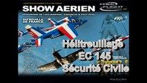 Hélitreuillage (helicopter winching ) EC145 Sécurité Civile
