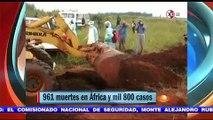Alarma en México por brote de Ébola EMERGENCIA SANITARIA INTERNACIONAL 1,000 MUERTOS AFRICA OMS