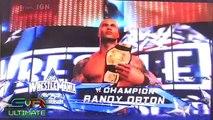 Smackdown Vs. Raw 2010: Cena vs. Orton Entrance [Off-Screen]