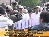 President Martelly et Correa nan ceremonie inogirasyon nan latibonit, Haiti