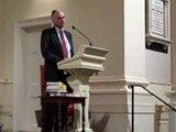 Ralph Nader at Unitarian Church of All Souls in NYC, 3-12-2010