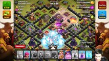 Clash of Clans - First Poison Spell Attack! (Gameplay