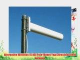 Alternative Wireless 15 dBi Pole-Mount Yagi Directional Wifi Antenna