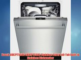 Bosch SHX7PT55UC SHX7PT55UC Stainless Steel Tall-Tub Built-in Stainless Dishwasher