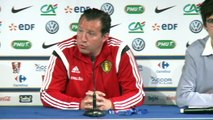 Foot: France-Belgique au stade de France