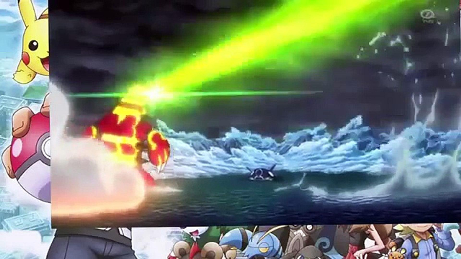 Pokemon Rayquaza Vs Groudon Vs Kyogre