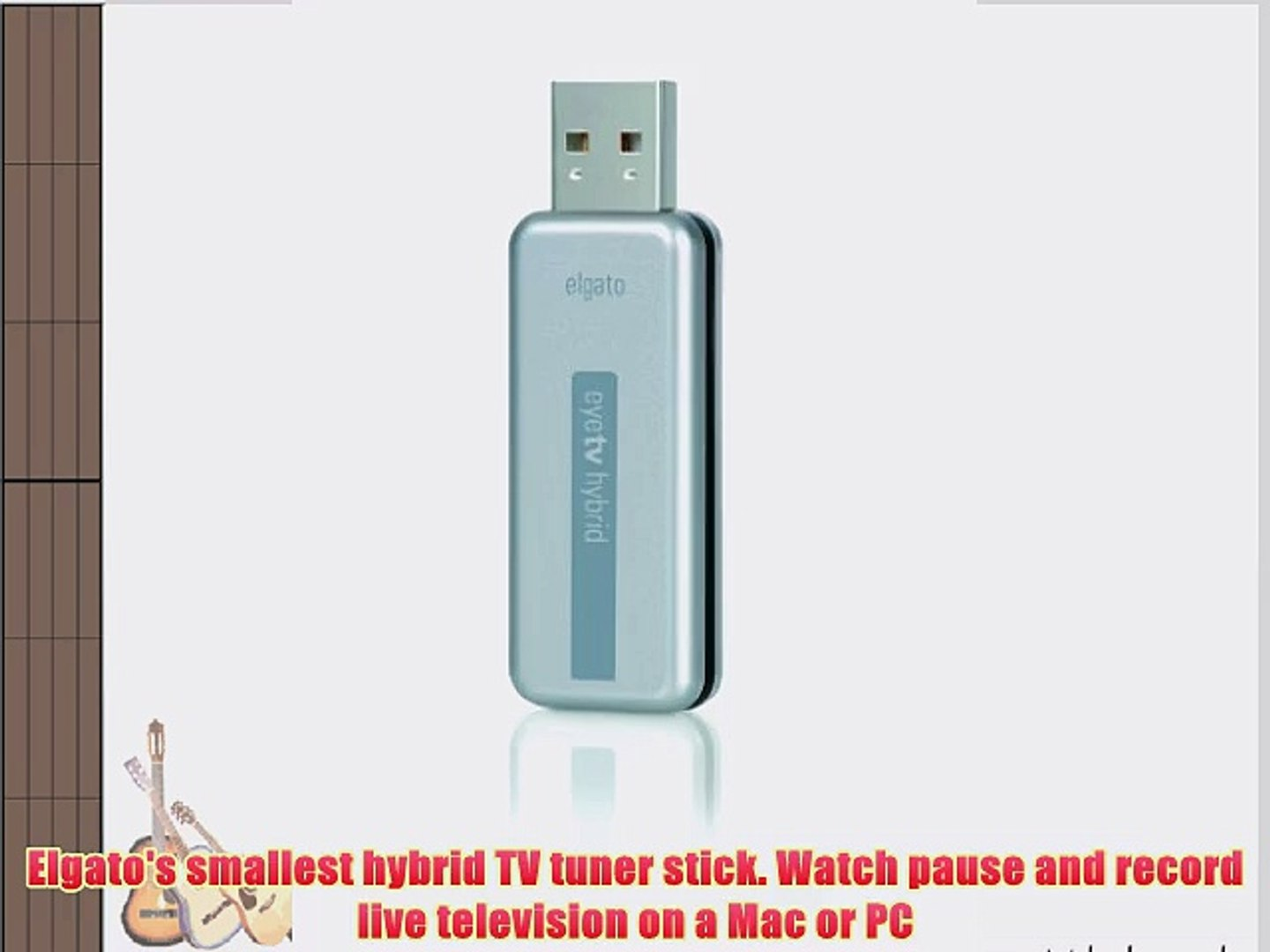 Elgato EyeTV Hybrid TV Tuner Special Edition Version (Includes 2 years of  TV Guide Data valued