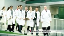 Doctors in White Coats Walking on Ramp - - Did You Know? - The Nebraska Medical Center Campaign