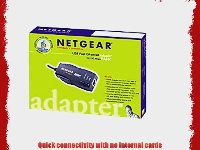 Netgear FA101 10//100 USB 1.1 Ethernet Adapter