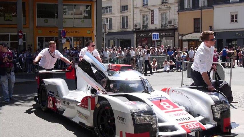 24 Heures du Mans - Le pesage Place de la République