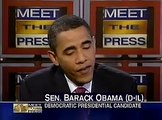 Tim Russert Interviews Barack Obama - Iraq/Foreign Policy