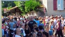 allingeoise 2015 avant le départ de la balade des familles plus de 500 personnes au départ !