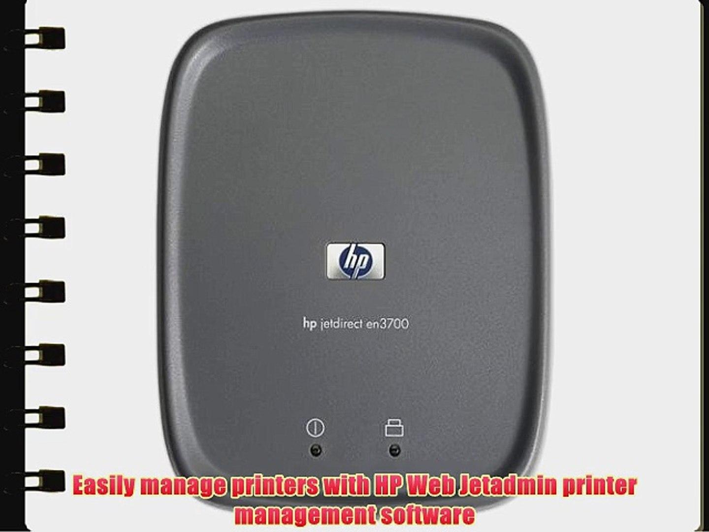 HP J7942A Jetdirect en3700 Fast Ethernet Print Server (USB 2 0)