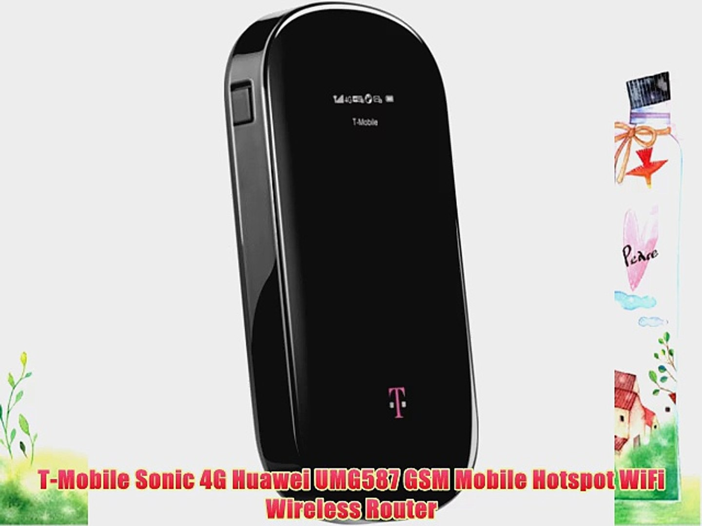 T-Mobile Sonic 4G Huawei UMG587 GSM Mobile Hotspot WiFi Wireless Router