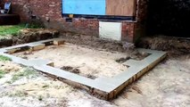 Room Addition footing Foundation The Columbia Company Remodeling Home Improvements Renovations