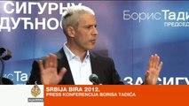 Govor Borisa Tadića nakon izbora - Al Jazeera Balkans