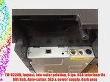 TM-U220B Impact two-color printing 6 lps USB Interface-No DM/Hub Auto-cutter SLD