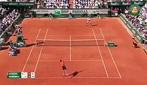 Wawrinka incredible point vs Djokovic (Roland Garros 2015)