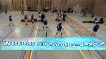 wedstrijd tegen VVH 4-3-2006