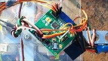 Quadrocopter Flight using HobbyKing Control Board