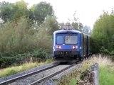 France: Strasbourg area Class BB 67400 SNCF diesel locomotives on TER passenger services