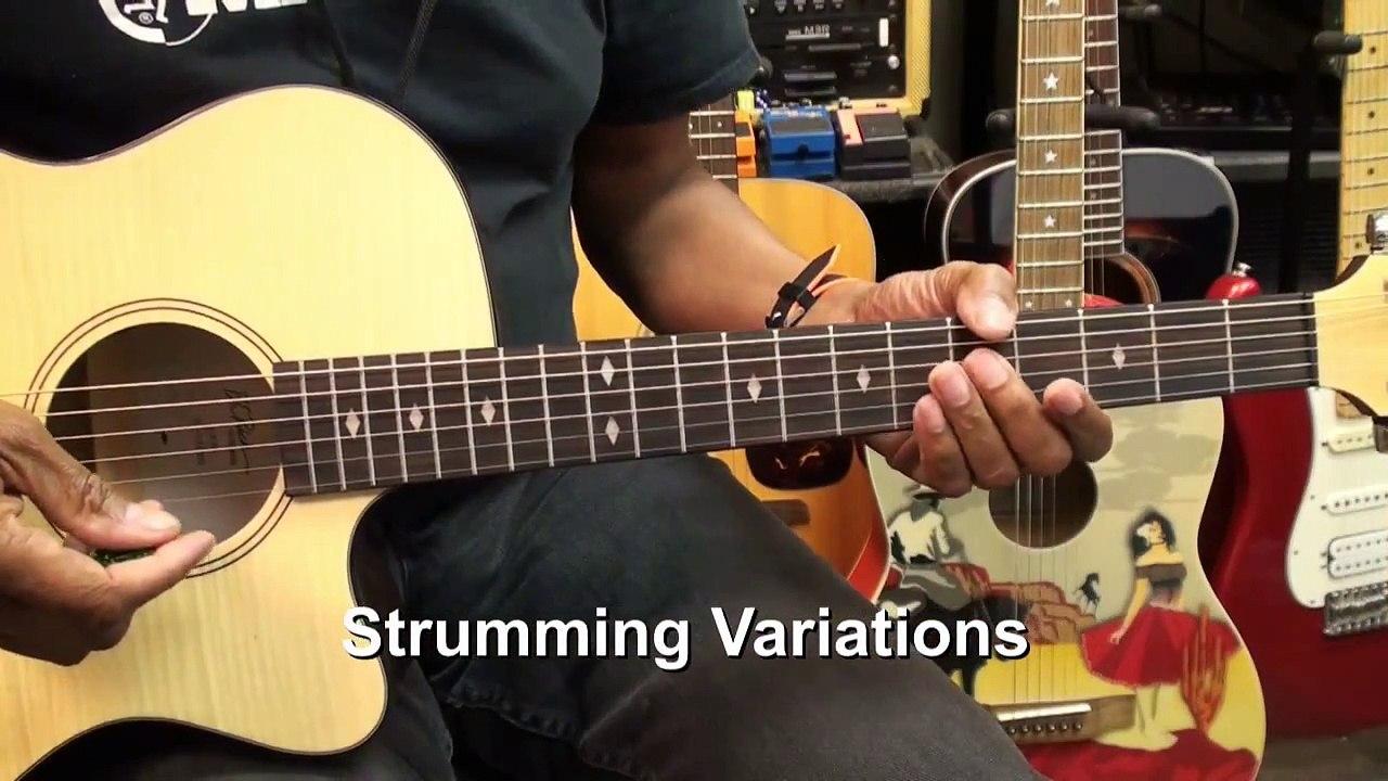 Led Zeppelin RAMBLE ON Totally Open Chords Guitar Lesson EricBlackmonMusicHD
