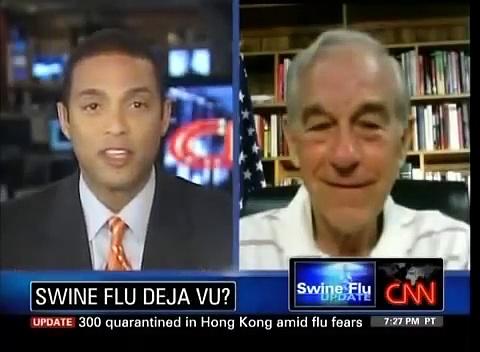 Ron Paul: Stop the Swine Flu Hysteria!