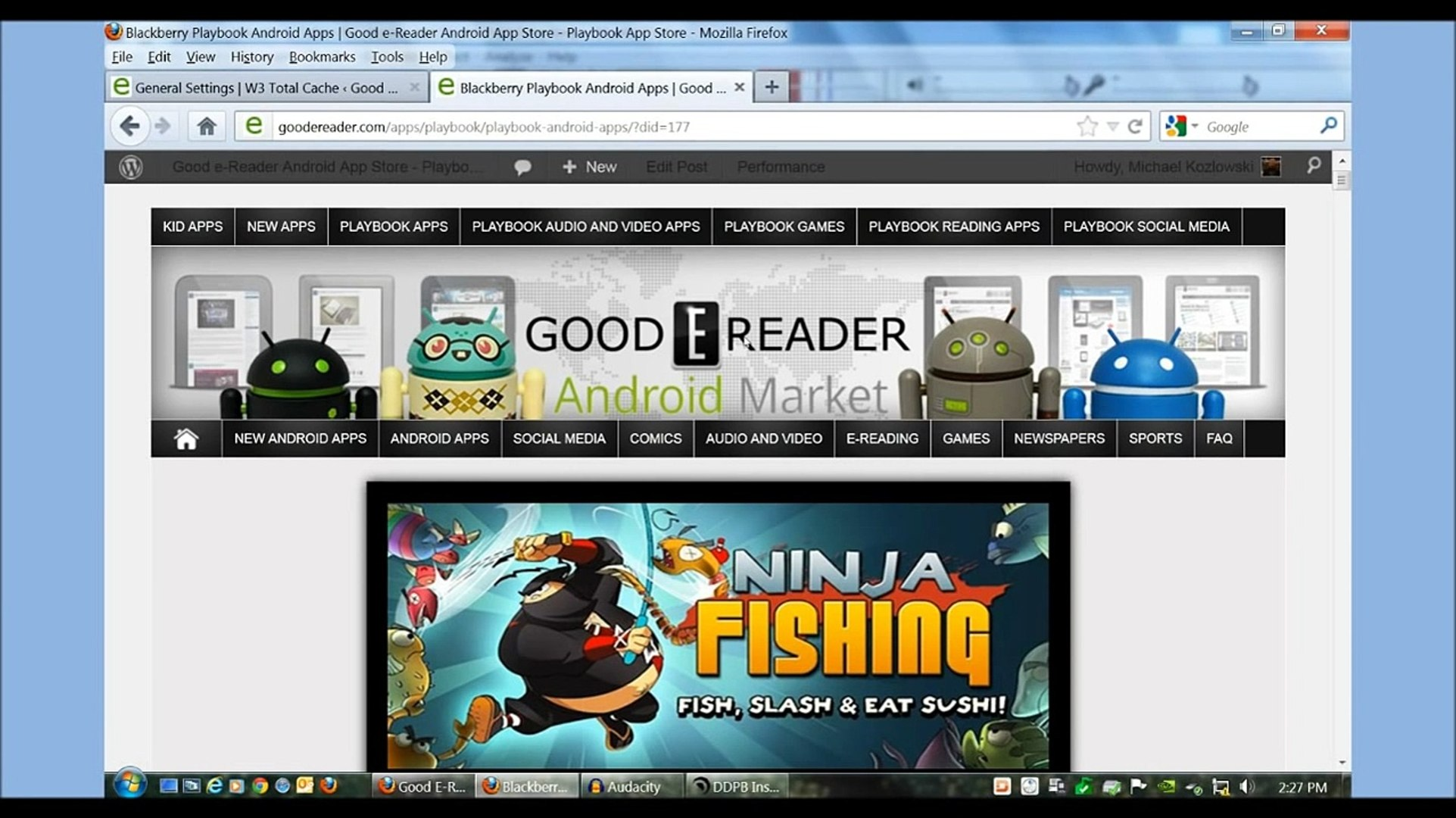 How to Install Android Apps on the Blackberry Playbook (Updated)