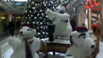 Frightening robot polar bears