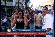 """""""Inicia cuenta regresiva rumbo a los Panamericanos de Toronto 2015"""" EfektoTV Noticias Internacional:"""