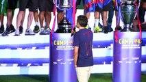 """Luis Enrique, misterioso sobre su futuro: """"Os emplazo para que apoyéis al equipo en el futuro"""""""