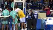Novak Djokovic vs Stanislas Wawrinka Funny Moments 2015 Abu Dhabi