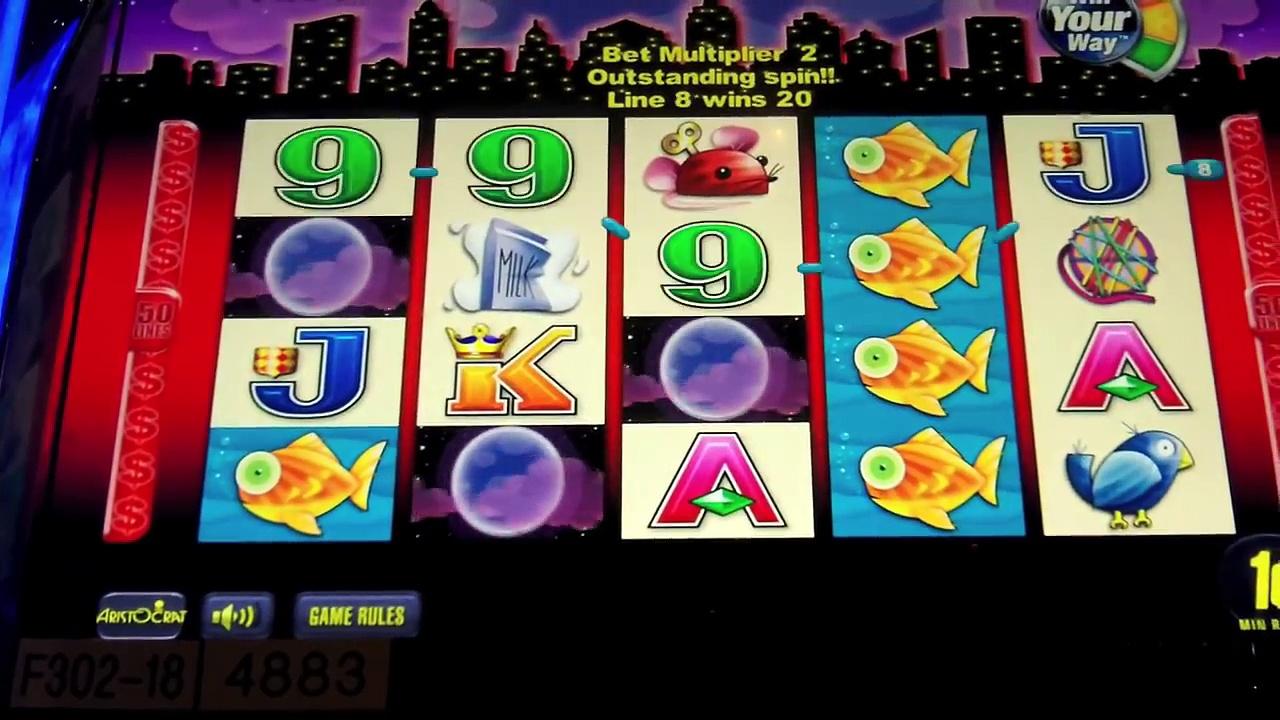 "Aristocrat – Miss Kitty ""Win Your Way"" Slot –  Mohegan Sun at Pocono Downs Casino – Wilkes Barre, PA"