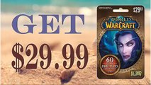 Get World of Warcraft (WOW) 60 day Subscription gift card codes generator 30$ [Tested method]