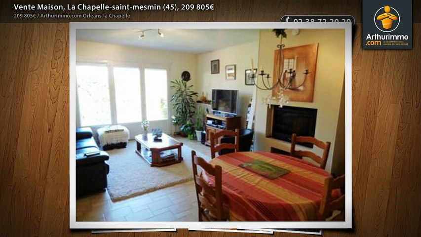 Vente Maison, La Chapelle-saint-mesmin (45), 209 805€