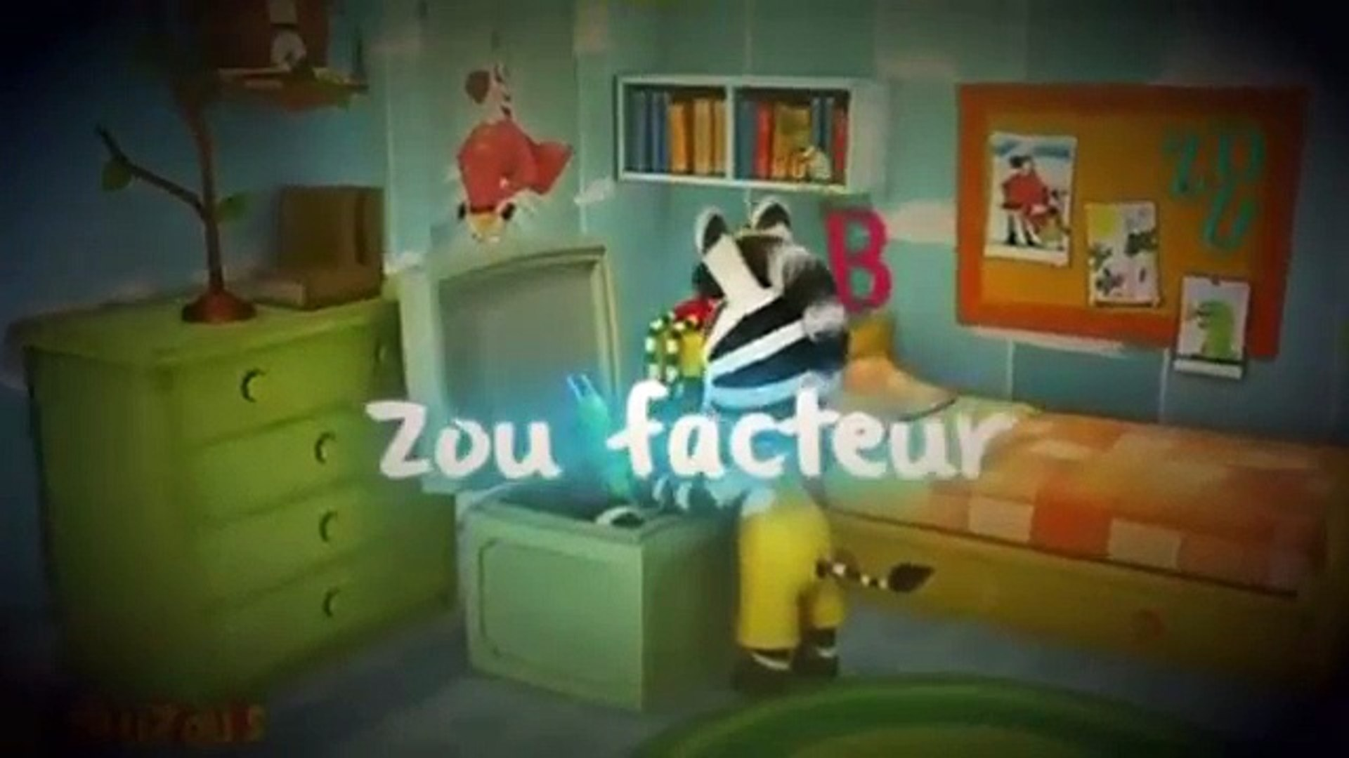 Zou Le Zebre Dessin Animé Zou Joue à Cache Cache Francais Complet 2015