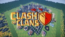 Clash of Clans in Minecraft MAXED OUT BASE wDownload