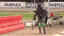 Compilation de chute de robots - finale du DARPA Robotics Challenge